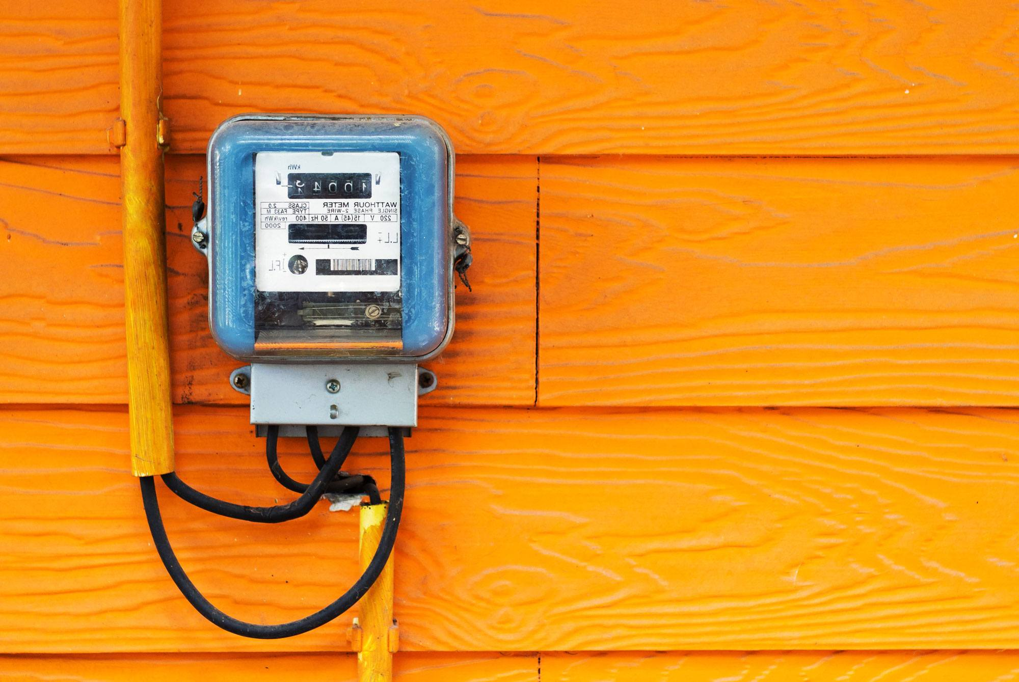 SE Electrical Services domestic outdoor meters