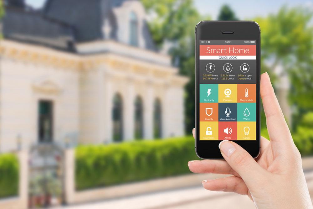 Domestic smart phone electrical meters