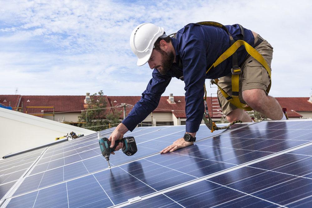 Domestic solar panels